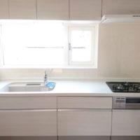 【After】清潔感のあるキッチン